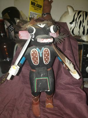 "11"" Hopi Kachina Black Ogre for Sale for sale  Pflugerville, TX"