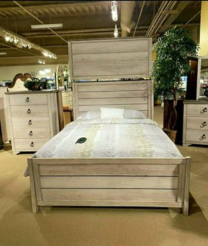 $39 Down Payment 《 Best OFFER》Patterson Driftwood Gray Panel Youth Bedroom Set 859 for Sale in Jessup, MD