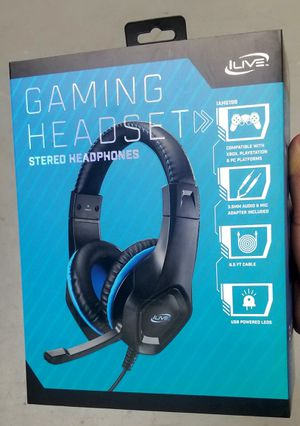 Gaming Headaet. Compatible with PS4, Xbox, and PC. BRAND NEW. Ready to play video games? for Sale in Miami, FL