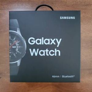 Samsung Galaxy Watch 46mm Silver Black for Sale in Issaquah, WA