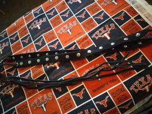 Suede studded Fringe belt vintage for Sale in Wichita Falls, TX