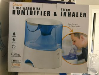 Humidifier and Steam Inhaler - New in the Box for Sale in Columbia,  MD