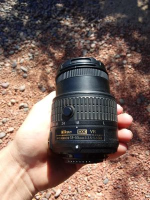Nikon 18-55mm lens for Sale in Phoenix, AZ