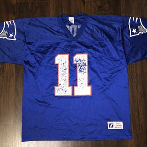 Drew Bledsoe New England Patriots Logo 7 Jersey Sz Large for Sale in Chicago, IL