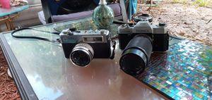 Yashika cameras and 2 Nikon lenses for Sale in Vero Beach, FL