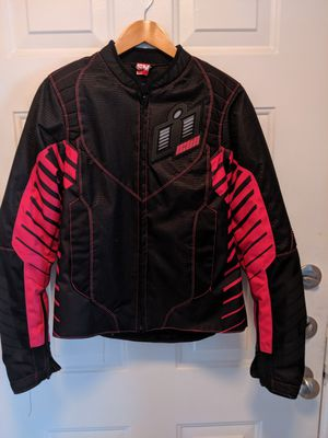 Like New Women's Small Icon Wireform Motorcycle Jacket for Sale in Oldsmar, FL