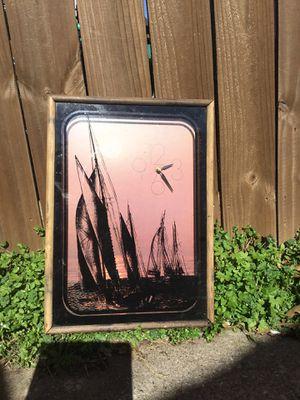 Sailboat clock for Sale in Carrollton, TX
