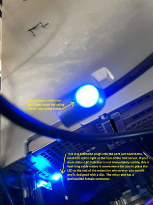 Dell® Status LED Indicator Cable HH932 (Lot of 6) 4 FEET long each for Sale in Las Vegas, NV