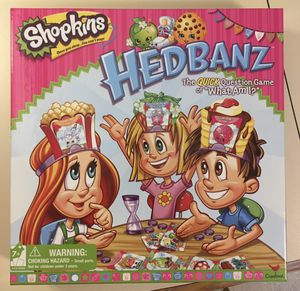 Shopkins Hedbanz game for Sale in Quincy, MA