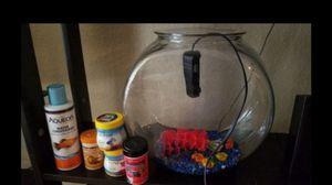 Like new beta fish tank kit for Sale in La Jolla, CA