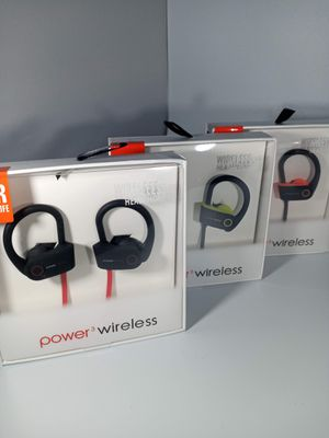 Sport Power3 Wireless earphones BEST PRICE for Sale in Loma Linda, CA
