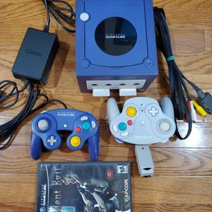 GameCube With 2 Controllers Including a Wavebird And Resident Evil for Sale in Clifton, VA