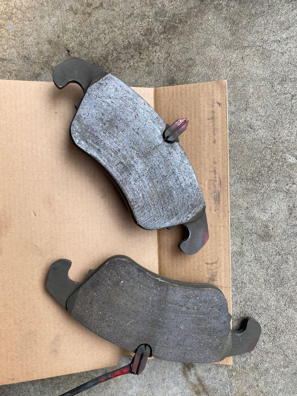 Left over brake parts. 2015 Audi A5