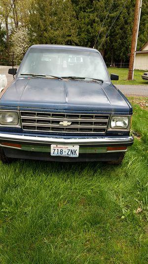S10 Blazer 1986 Chevy. Runs for Sale in Marysville, WA