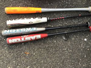Aluminum baseball bats, can be purchased separately for $30 each for Sale in Westport, CT