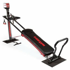 Total Gym 1900 Ultimate Home Fitness Exercise Machine Equipment + DVDs | R1900 18C for Sale in Norcross, GA