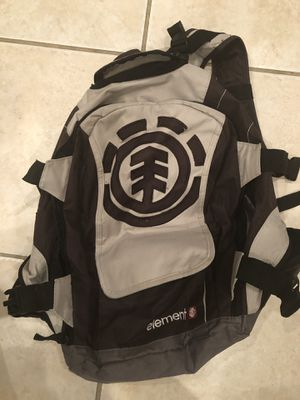 Element skateboard backpack for Sale in Tampa, FL