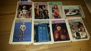 100 Dr Who trading cards from 1994 for Sale in Mason City, IA