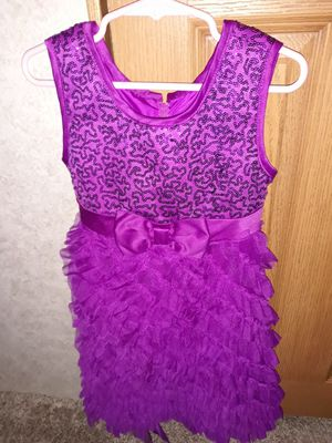 Girls special occasion dress size 5 for Sale in Puyallup, WA