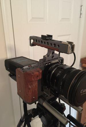 Blackmagic pocket cinema camera bmpcc metabones for Sale in Atlanta, GA