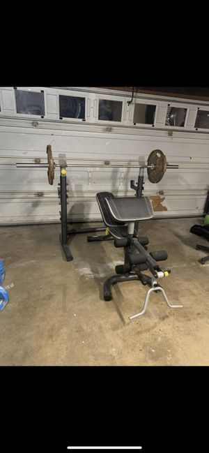 Golds gyms weight bench for Sale in Orange, CA
