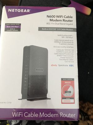 Netgear Wireless Modem Router for Sale in Hattiesburg, MS