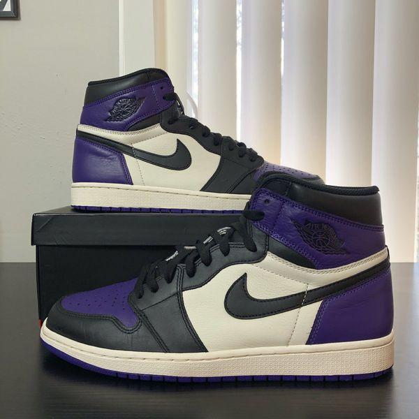 "Jordan 1 ""Court Purple"" ☔️"