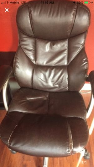 Leather office chair for Sale in North Andover, MA
