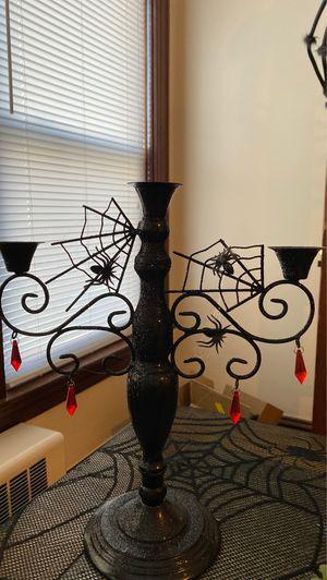 Halloween candle holder unique ! $22.00 festive decor for Sale in Lincoln, RI