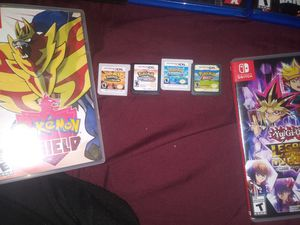 3ds & Nintendo swicth games for Sale in Chicago, IL