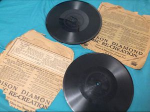 Rare, 1912- 1929 Edison Diamond Disc Re- Creation (Record) _ [read description] for Sale in Colorado Springs, CO