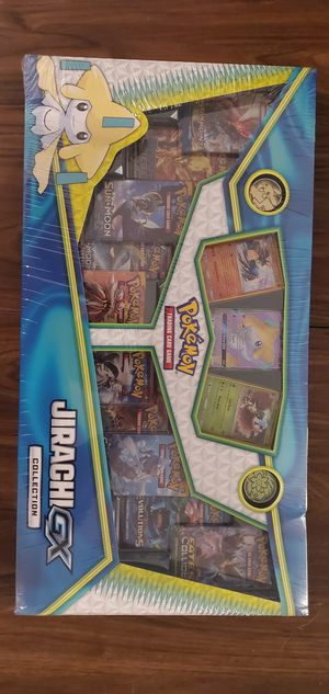 Pokémon Jirachi GX Collection Brand New Factory Sealed Pokemon Evolutions for Sale in San Pedro, CA