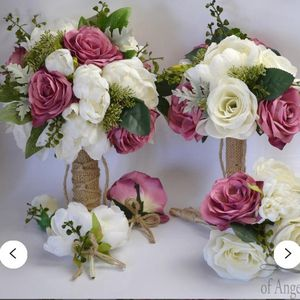 Wedding Flower Bouquet Set. Brand New Never Used for Sale in Brooklyn, NY