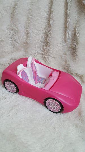 2010 Mattel Barbie Glam Pink Convertible Car Sports Car 2 Seats Seat Belts for Sale in Orlando, FL