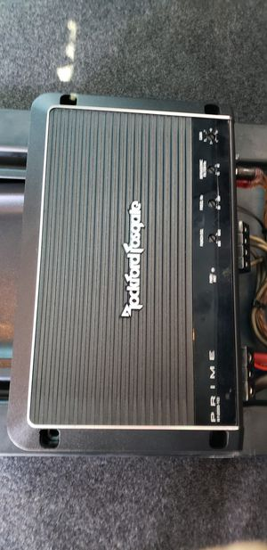 "1200 Amp Rockfordfosgate, and 12"" Alpine SubSpeakers for Sale in Chicago, IL"