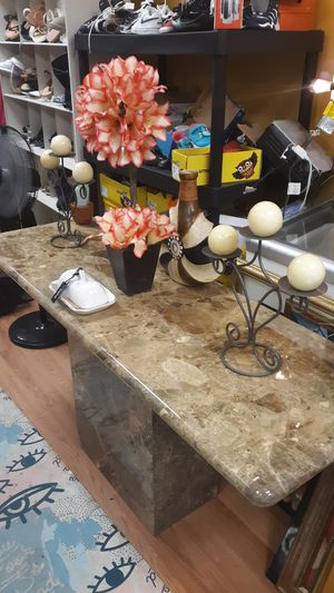 Stone marble table for Sale for sale  Clifton, NJ