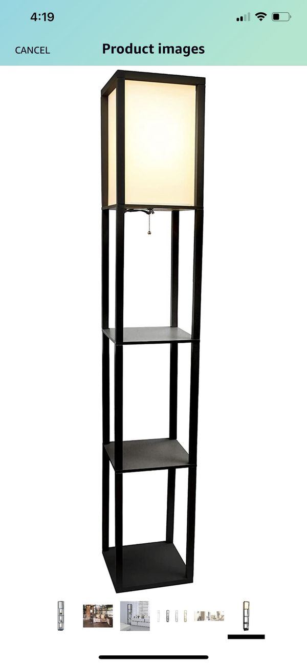 Stand floor lamp
