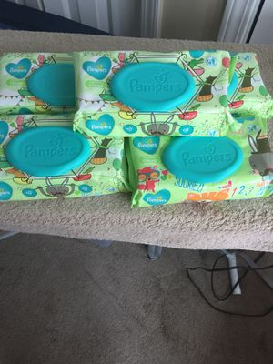 72ct Pampers brand baby wipes for Sale in Memphis, TN