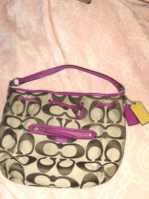 Coach bag W/ Adjustable straps for Sale in Pittsburgh, PA