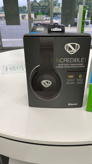 NCREDIBLE1 Bluetooth Headphones for Sale in North Little Rock, AR
