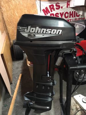 9.9 Johnson outboard motor for Sale in Stockbridge, GA