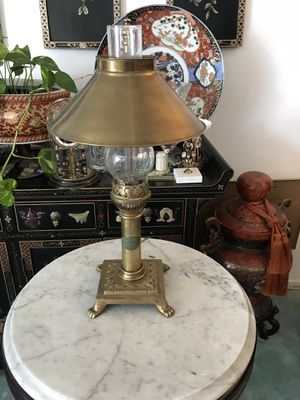 Brass lamp for Sale in Upland, CA