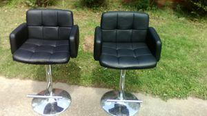 Set of adjustable bar stools for Sale in Winston-Salem, NC
