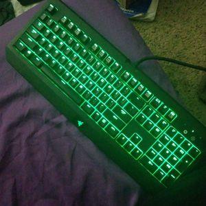 Razer BlackWidow Ultimate Gaming Keyboard for Sale in Fair Oaks, CA