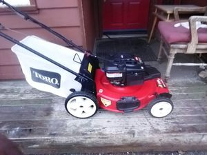 Toro self-propelled 190cc 6.75 HP lawn mower for Sale in Peshastin, WA