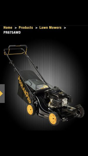 Brand new Unboxed AWD Poulon Pro Lawnmower for Sale in Seattle, WA