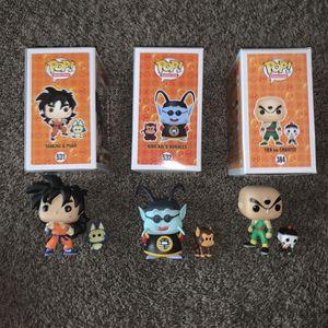 Dragon Ball Z Funko Pops for Sale in Dallas, TX