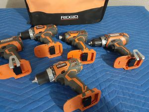 Rigid drills and impacts for Sale in Baytown, TX