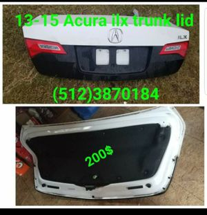 2013, 2014, 2014, 2015 acura ilx trunk lid for Sale in Austin, TX