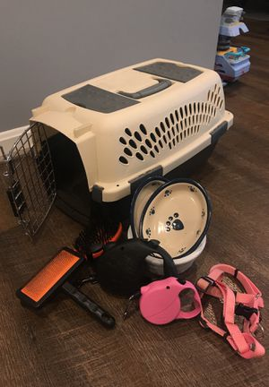 Dog cage and extras for Sale in Springfield, VA